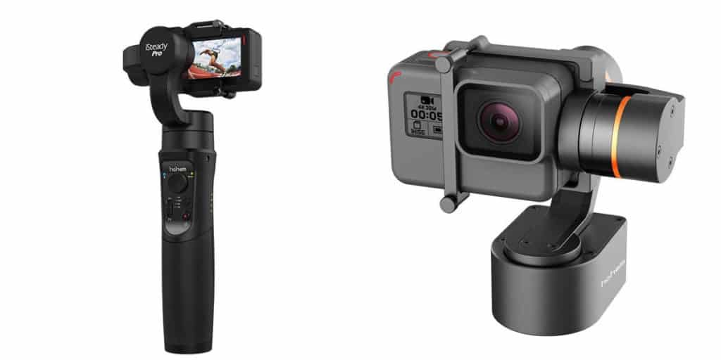 handheld gopro gimbals vs wearable gopro gimbals