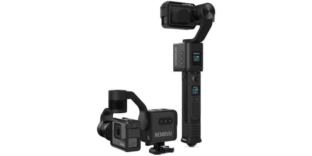 Removu S1 gimbal for GoPro