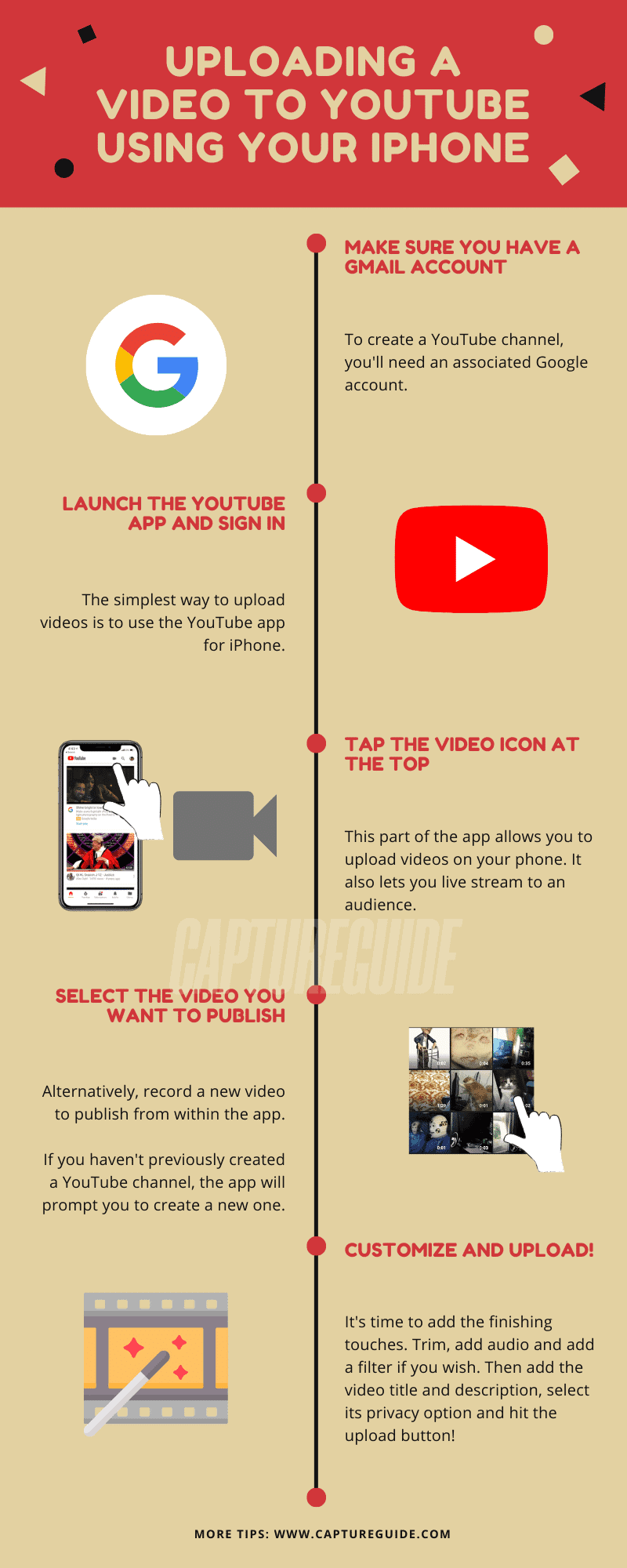 How To Upload A Video To YouTube From iPhone (Simplest Method) - Capture  Guide