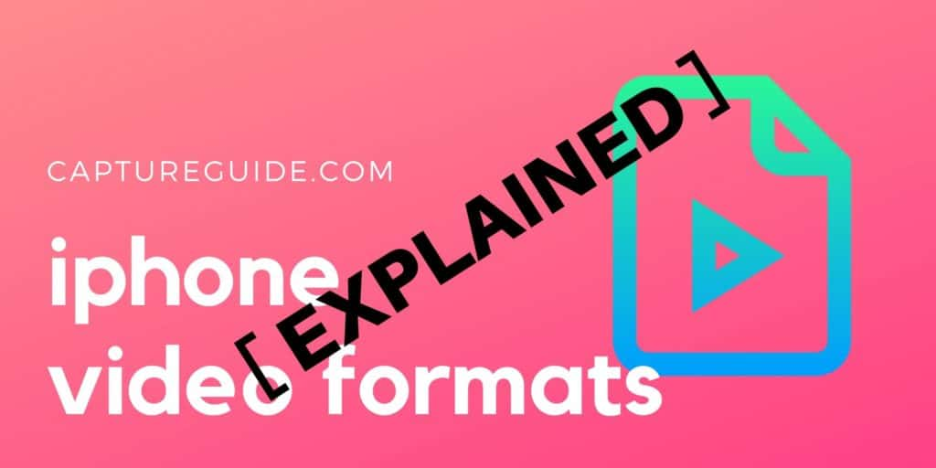 featured image for iphone video formats article